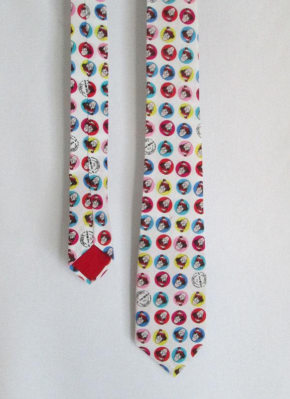 Nerdy Neckties - Where's Waldo tie LIMITED