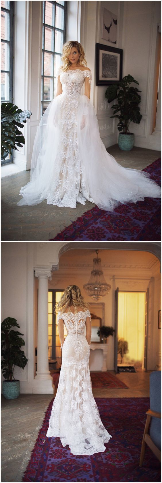 Mermaid Wedding Dress lace wedding gowns sexy wedding dresses