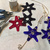 1 DOZEN Wedding Stars, Quantity Discount, Glass Star, Wedding Favor,