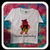 Silhouette Pooh, Tigger, Piglett inside of Pooh Bear. 4x4 5x7 6x10 digital