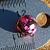 Pink Olympic Jasper Ball Beads 10-1252