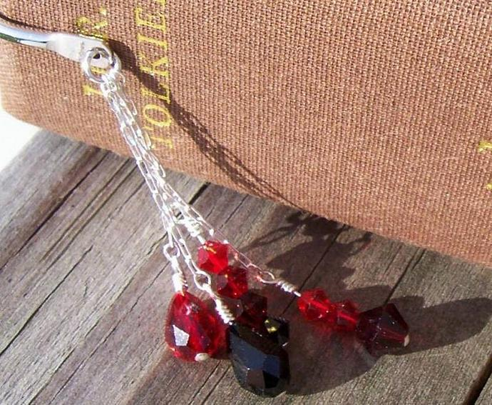 Swarovski Crystal Bookmark - Blood