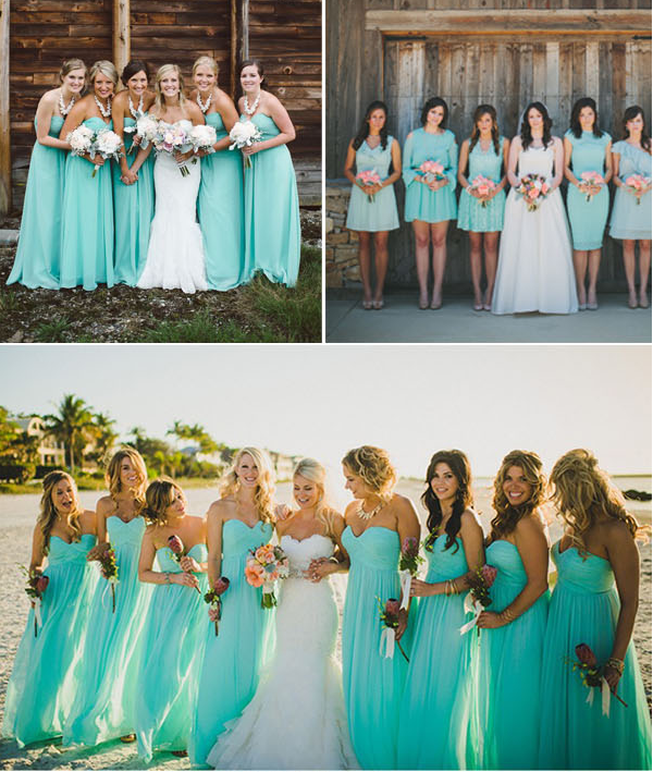 Top Ten Wedding Colors For Summer Bridesmaid Dresses Chiffon dresses
