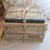 Antique French Book Bundle. Shabby Chic, Faded, Green Book Stack. French School