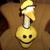 Smiley Face Geese Gpose Outffit Crochet Lawn Goose Clothes Outdoor Patio Decor