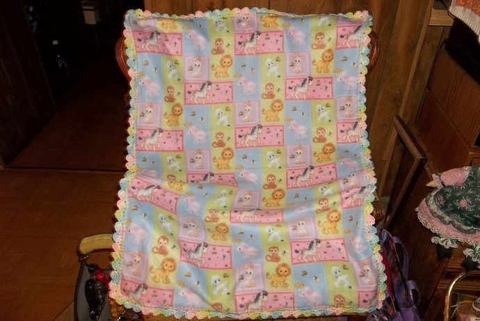 Animals Small Fleece Baby By Tissue Box Covers And Beyond On Zibbet