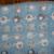 Elephants Blue Baby Fleece Blanket with Lt Grey Crochet Edging Baby Shower Gift