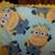 Minions Baby Fleece Blanket with Crochet Edging Baby Buggy Blanket Baby Shower