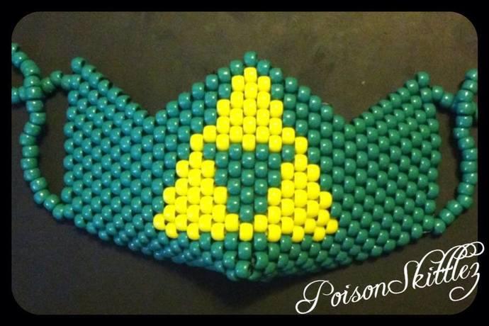 Triforce Kandi Mask