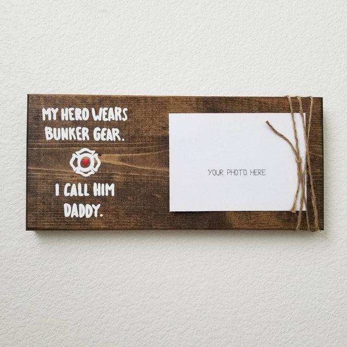 Firefighter Gift For Him, Firefighter Decor, Firefighter Dad, Fireman Gift,
