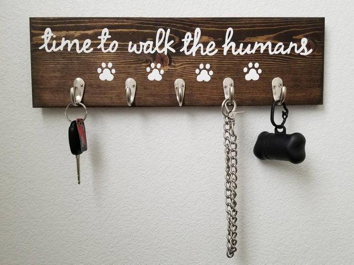 Wall Hooks, Dog Leash Hook, Key Hooks, Entryway Organizer, Entryway Decor, Pet