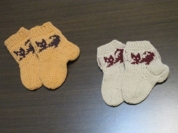 Baby socks, Children's knitted socks, Knitting socks, children's socks, winter