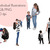 Watercolour fashion illustration clipart - Mother & Son - Dark Skin