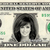 MARIE OSMOND on Real Dollar Bill Cash Money Collectible Memorabilia Celebrity