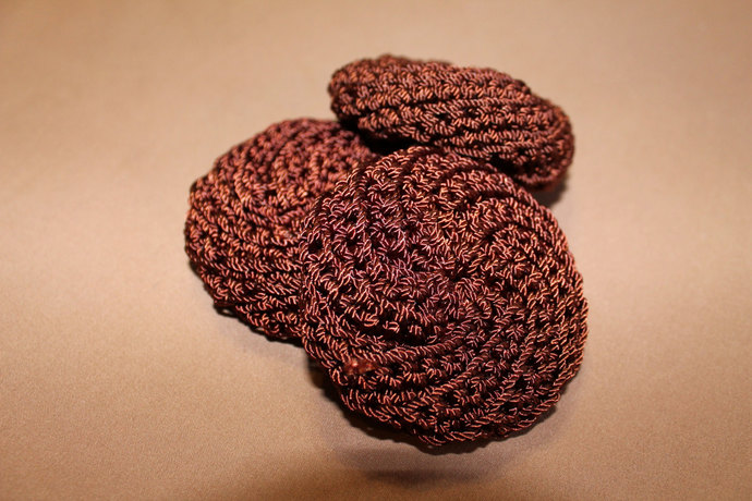 Tawashi Pot Scrubbers In Set Of By Elizabeths Exclusives On