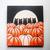 Cats in the Halloween Pumpkin Patch Original Cat Folk Art Acrylic Painting