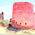 Ancient Towers of Hovenweep, original watercolor painting, 5x7 inches - Free US