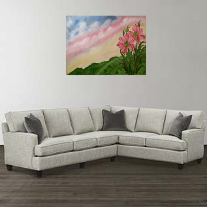 """Oil Painting, Original Painting, 18x24 Painting, Landscape Painting, """"One Loan"""