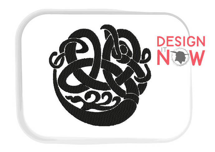 Ornament Tribal Decor Machine Embroidery Design - 5 Sizes