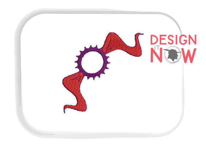 Set of 4 - Decoration Festive Border Machine Embroidery Design