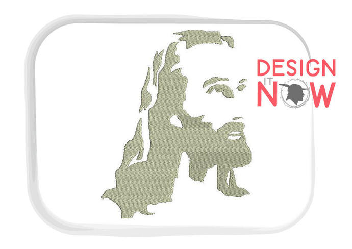 Jesus Machine Embroidery Design