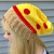 READY TO SHIP Crochet Pizza Slouchy Hat - Women's / Teens