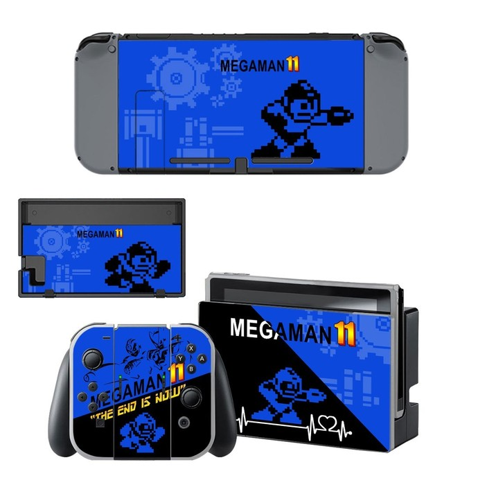 Mega Man 11 Nintendo switch skin