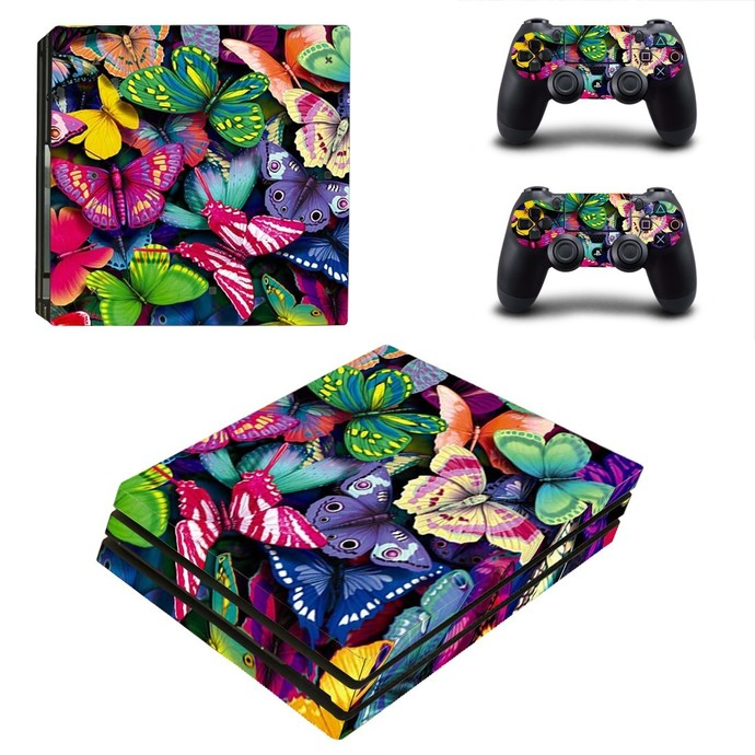 Video Game Accessories 8590 Ps4 Protective Skin Sticker Set Console And 2 Controllers Video Games & Consoles