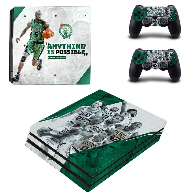 Kevin Garnett  PS4 PRO edition skin Sticker decal Console and controllers
