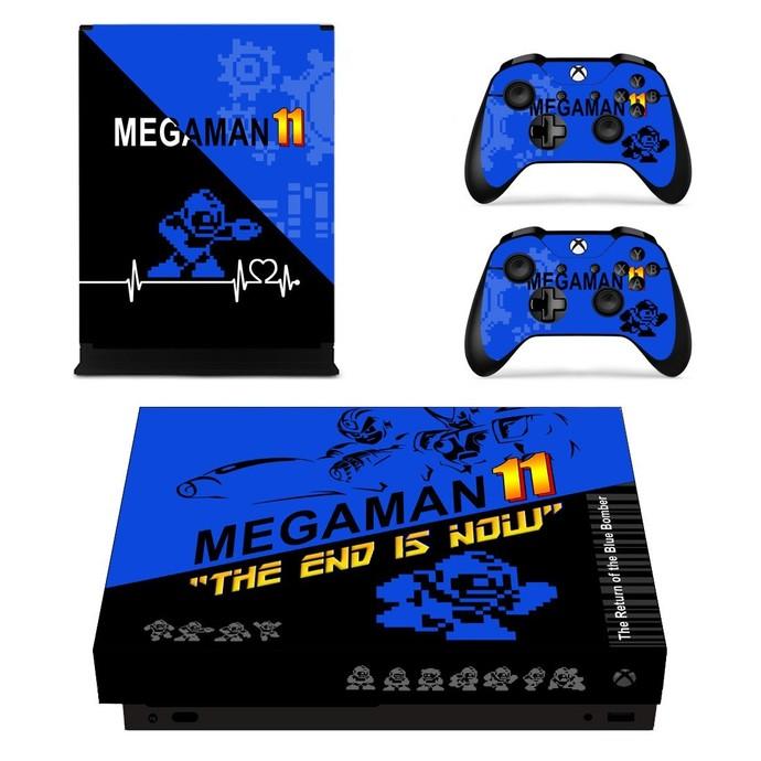 Mega Man Xbox one X skin