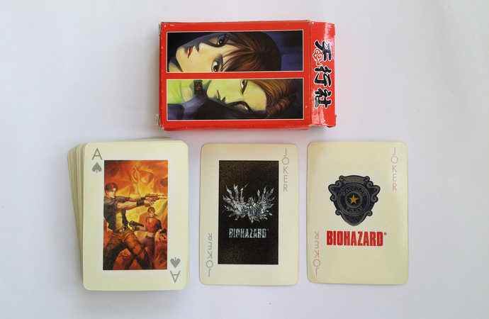 BIOHAZARD Code: Veronica Promo Playing Cards - Glow In The Dark Deck - Hong Kong