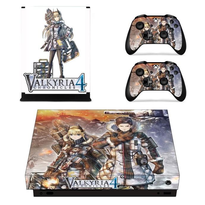 Valkyria Chronicles 4 Xbox one X skin