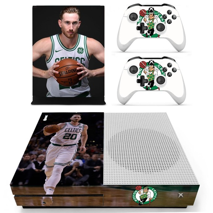 Gordon Hayward  decal skin for xbox one S console and 2 controllers