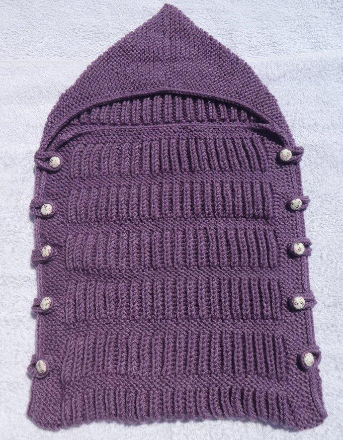 Baby Snuggle Bag - Purple