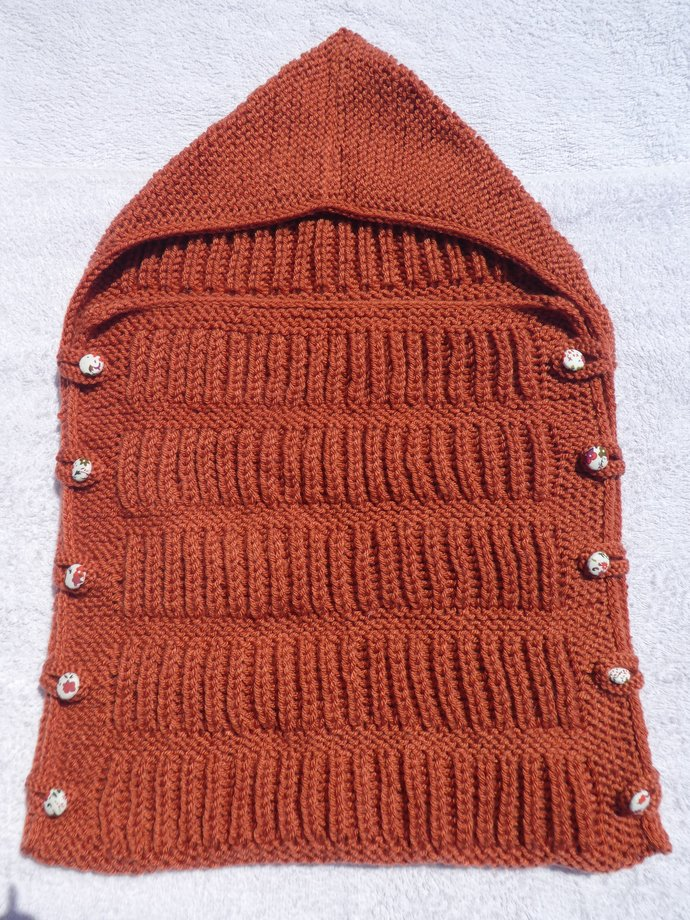 Baby Snuggle Bag - Burnt Orange