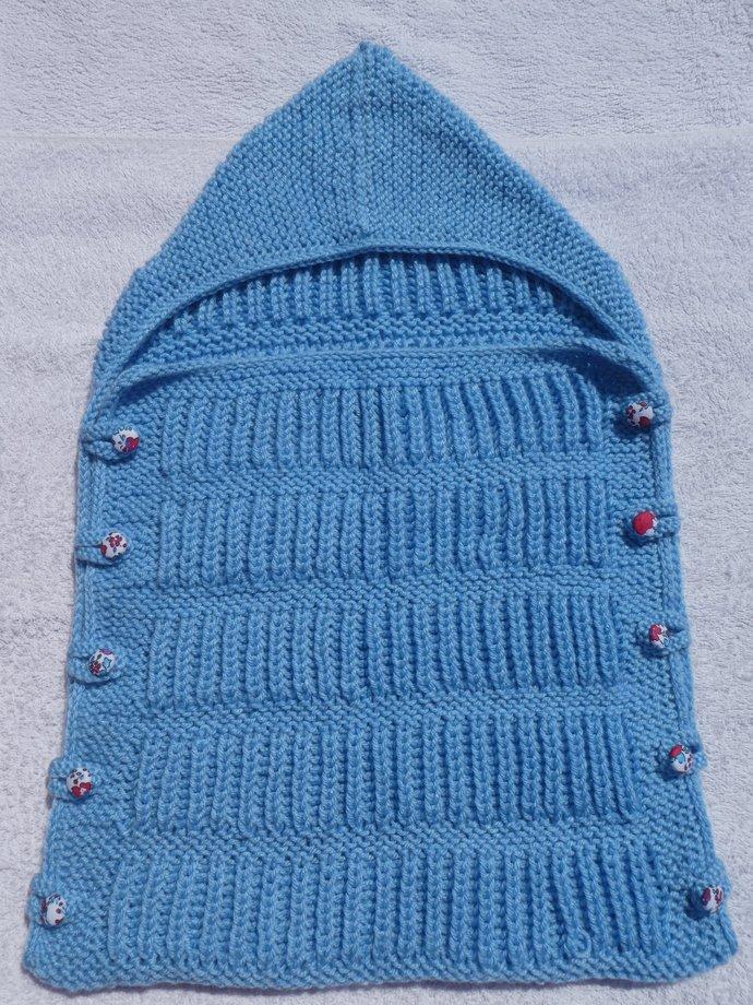 Baby Snuggle Bag - Blue