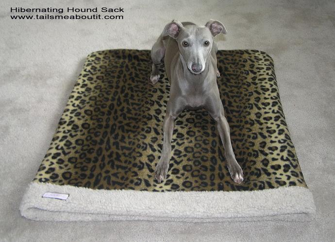 Hibernating Hound Sack - Snuggle sack - Pet Sleeper