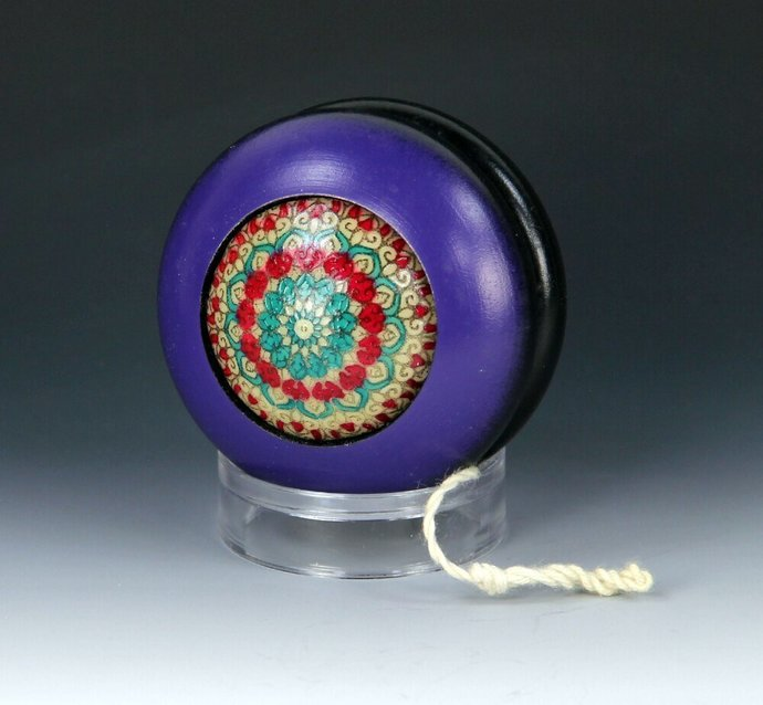 Vintage Tom Kuhn/BC Phantom YoYo - Handmade Glow-In-The-Dark Mandala by YoYoSpin