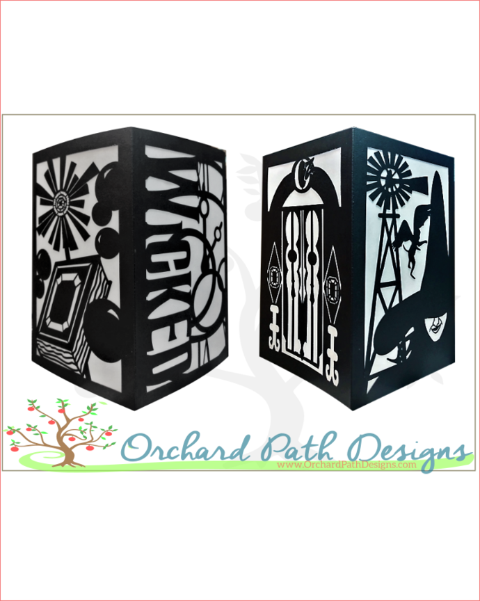 Wicked Broadway Musical Themed Paper By Orchard Path Designs On Zibbet