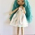Teal, Hand Made Doll, Jo Doll Collection, Dress Up Rag Doll,  My first Cloth