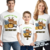 Personalized Jungle Safari Birthday Party T-shirt Bodysuit Shirt Giraffe
