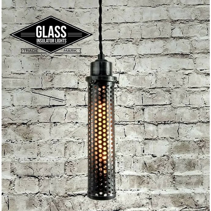Pendant Light - Industrial Pendant Light - Steampunk Light - Industrial Lighting