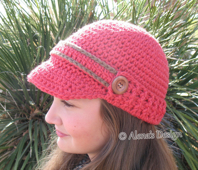 Crochet Pattern Free Crochet Hat Pattern By Alenasdesign On Zibbet