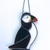 Puffin 'Billy' Stained Glass Suncatcher, Window Ornament, Wall Decoration,