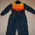 Vintage 70s Mens EXL Griswold Snow Ski Suit Tall Color Block Retro 1 Piece