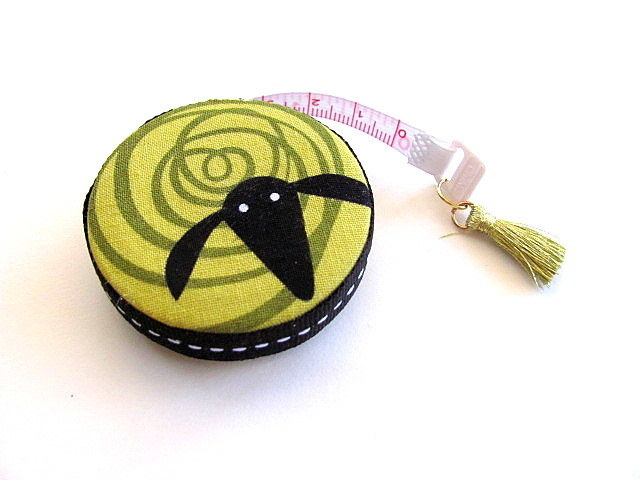 Measuring Tape Colored Swirl Sheep  Retractable Tape Measure