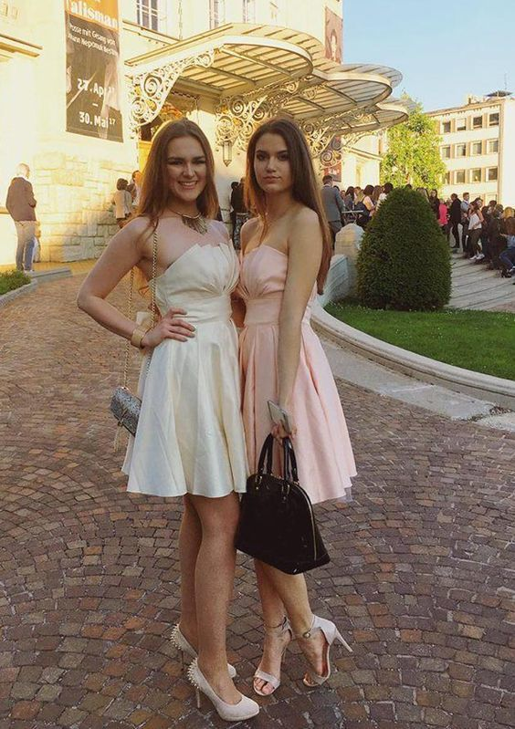 Cute A Line Mini Homecoming Dresses, Sexy Cocktail Dress,Cheap Prom Dress,Formal