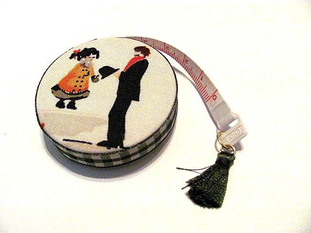 Tape Measure Victorian Stroll Retractable Measuring Tape