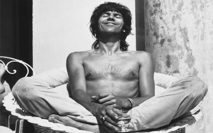 "Keith Richards Canvas Print (13""x19"" or 18""x28"")"