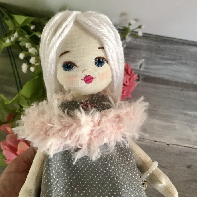 Luna, Jo Doll Collection, Dress Up Cloth Doll.